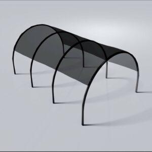DIY Car shade port
